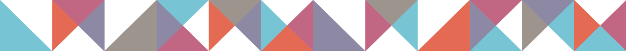 Triangular decoration graphic