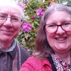 Carer Support recipient Kaye and her husband Finlay
