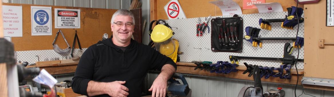 Nicola Guida – White Road Men's Shed Supervisor
