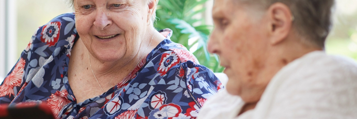Aged care 'very different' for residents right now