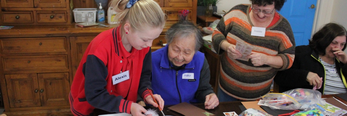 New inter-generational program already a success at Carinya
