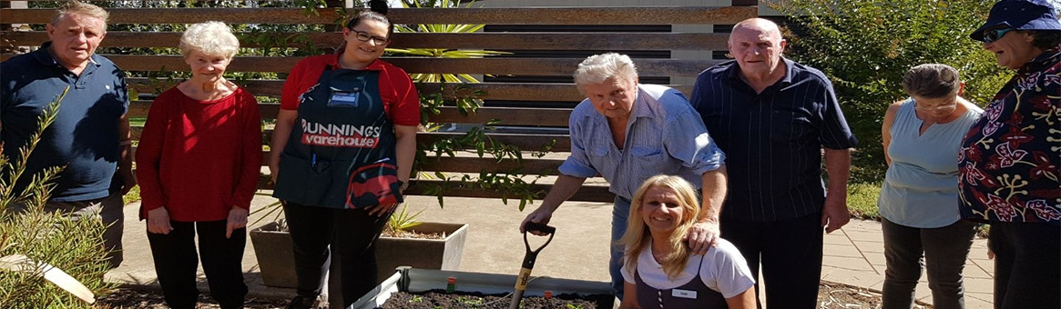 Kialla House gets a garden make over