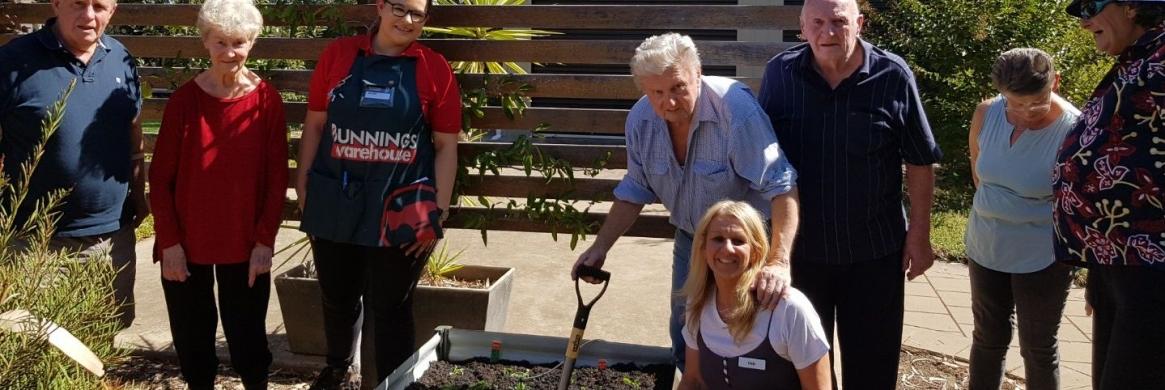 Kialla House gets a garden make over