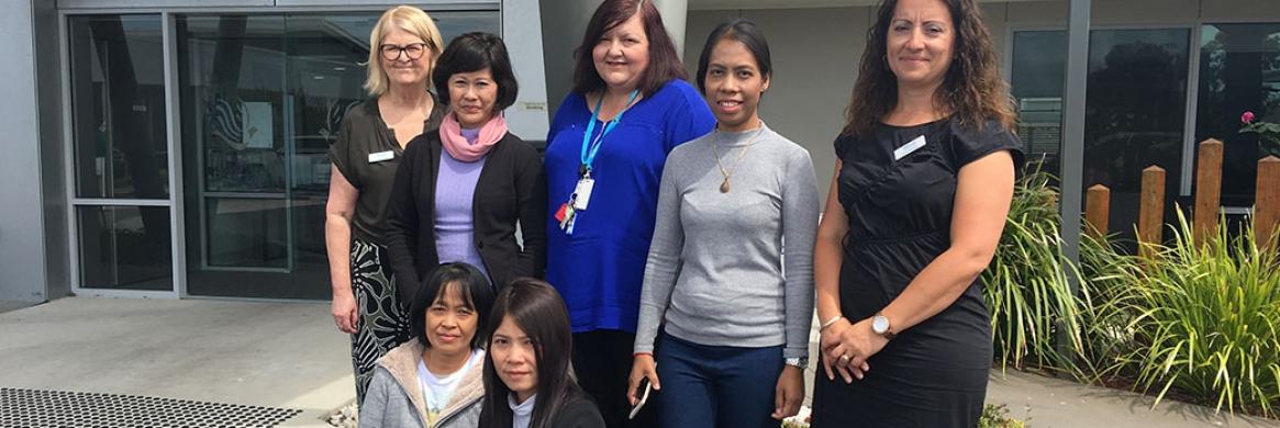 Overseas visitors praise Montessori practice
