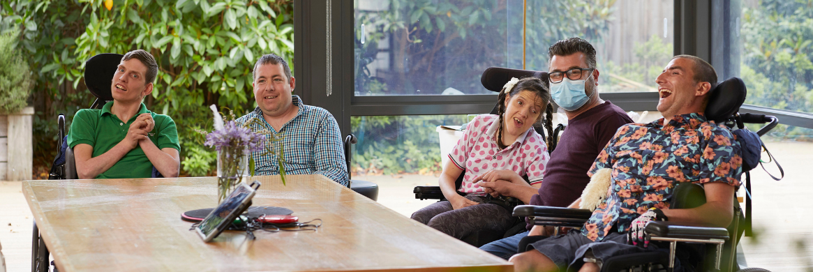 Living with your mates in disability accommodation