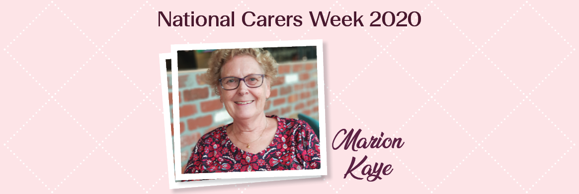 Marion's 20 year carer journey