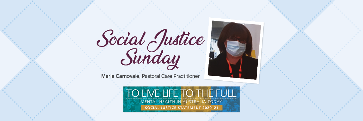 Social Justice Sunday – Mental Health