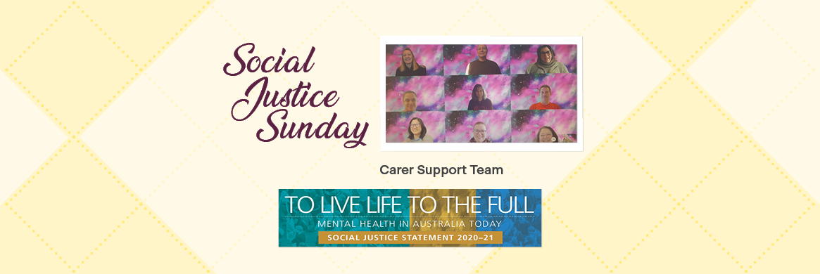 Social Justice Sunday – supporting carers
