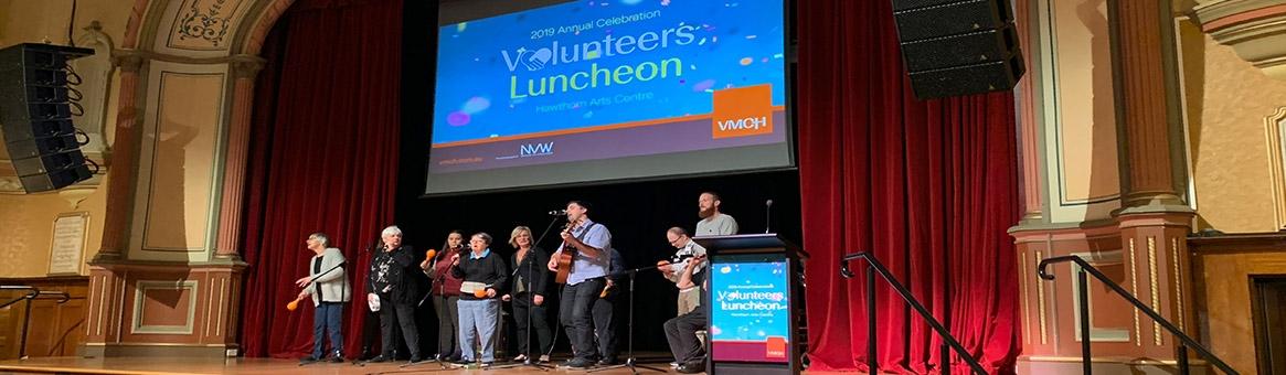 VMCH celebrates its amazing volunteers