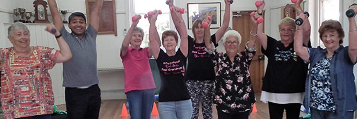 Bonnie Doon seniors get physical