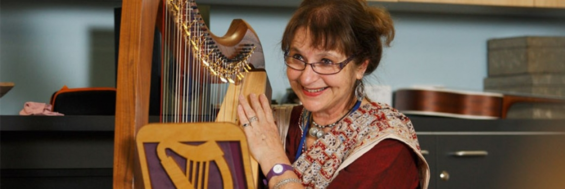 Healing powers of the harp