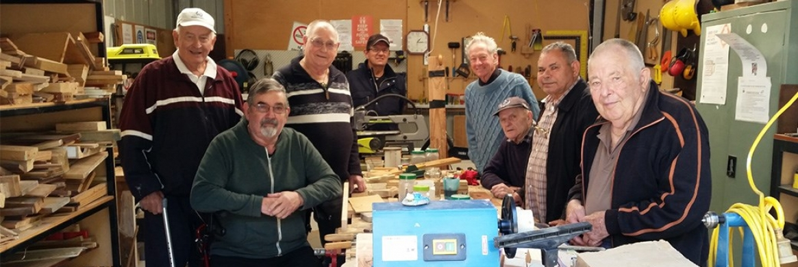 Men's Shed provides mateship for seniors
