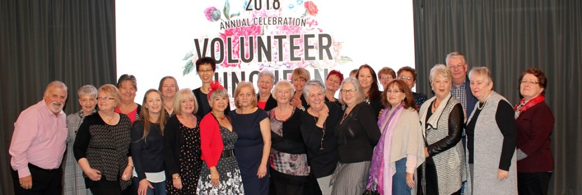 VMCH celebrates its volunteers